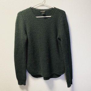 Ann Taylor green sweater